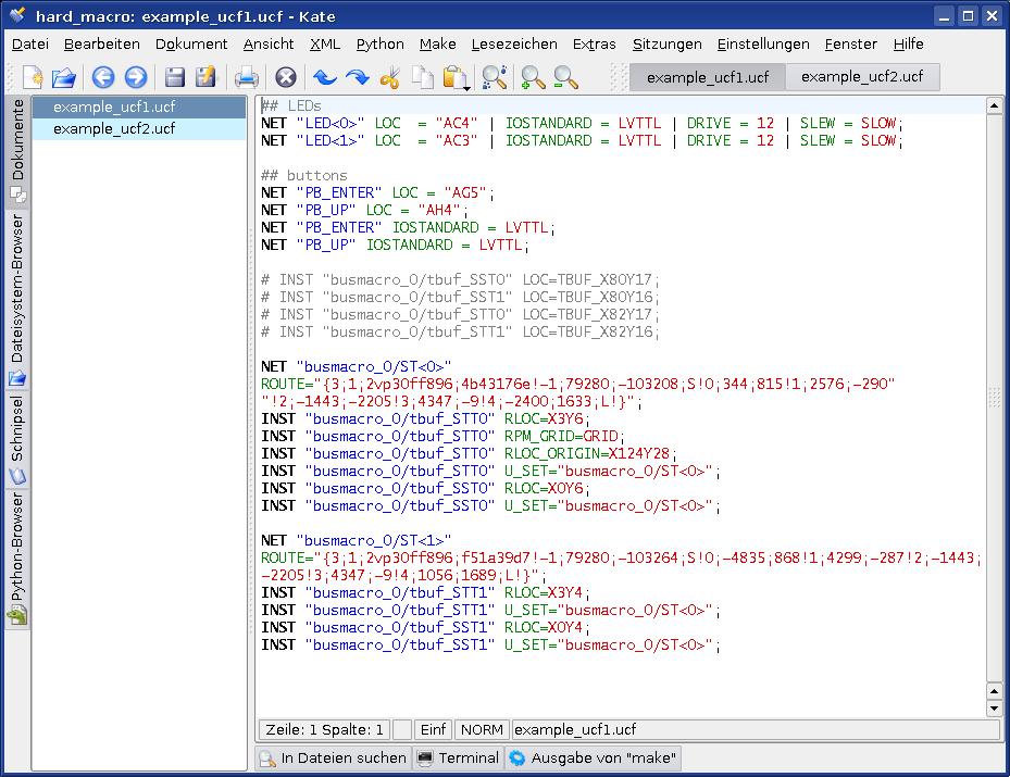 VHDL Editors